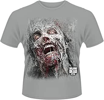 Gato Zombie t-shirt hombre mujer Goth Rock Kitty muertos vivientes cadáver pesadilla Horror